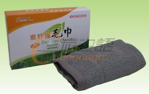 竹炭纤维毛巾