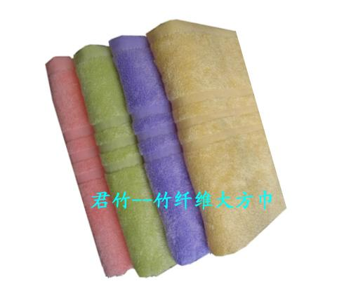 JZ9207缎档大方巾(竹)