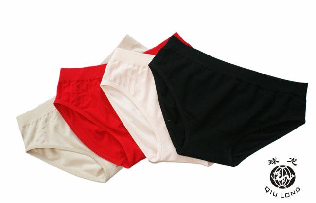 竹纤维女三角内裤