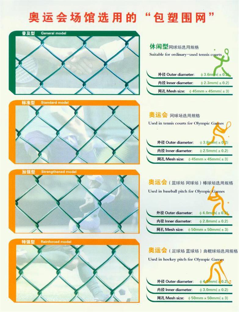 奧運會場館包塑圍網供應