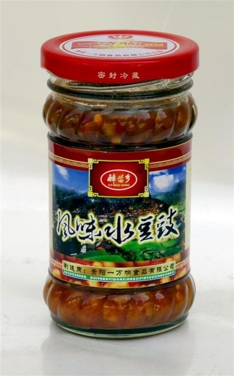 貴州風味水豆豉-醉苗鄉風味水豆豉