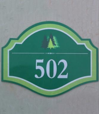 502标牌