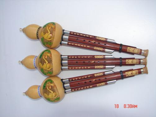 BJ-2090:中级天木管葫芦丝(2010年新款)