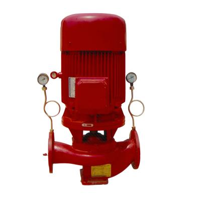 立式单级消防泵组(无控制柜)