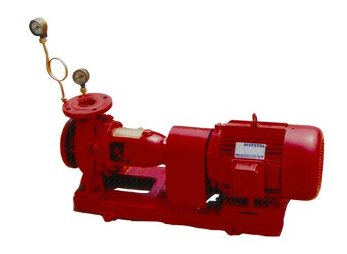 卧式单级消防泵组(无控制柜)