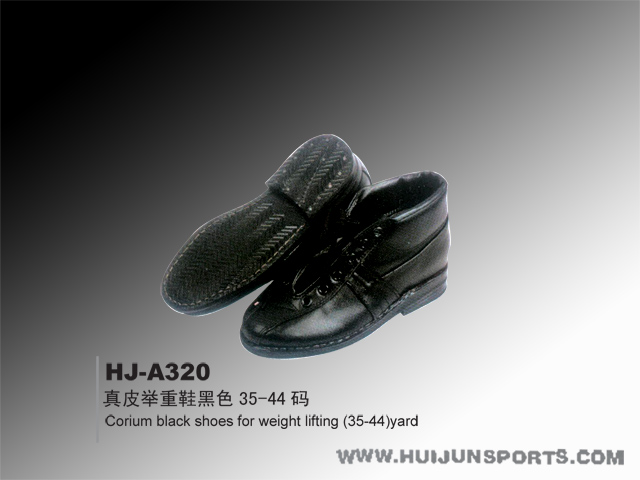 [HJ-A320真皮舉重鞋黑色35-44碼]