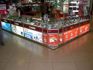 数码货架 展柜  货柜