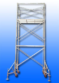 914高层护栏式门架