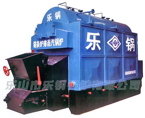DZL链条炉排水火管蒸汽锅炉